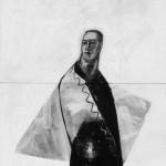 Ralph Kull, man standing, 1985