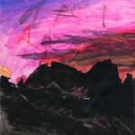 Ralph Kull, ohne Titel (Abendrot), 2011