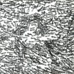 Ralph Kull, scenic wood, detail, 1992